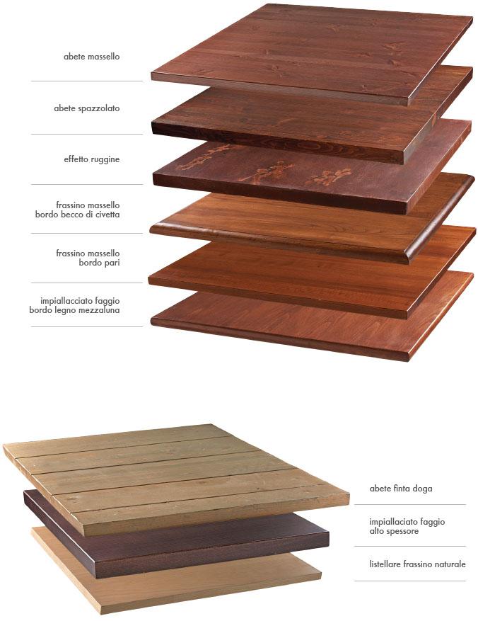 Campionario piani per tavolo in legno piastrelle mg sedie for Piani a 2 piani