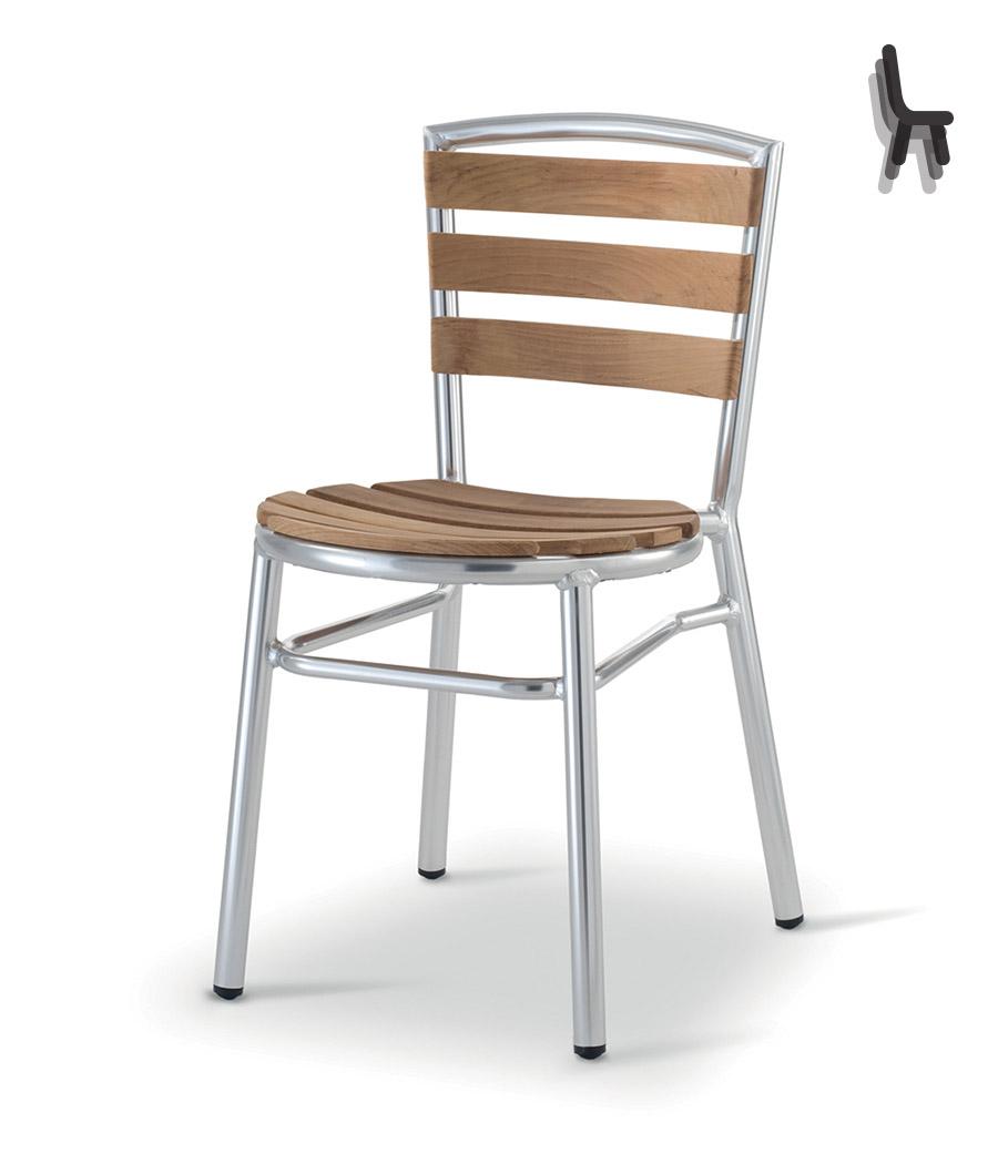 Art es 935 sedia sedie esterno alluminio mg sedie for Sedie e tavoli per esterno