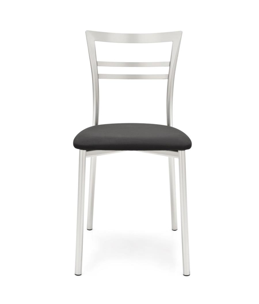 Art g 1419 sedia go moderno sedie metallo p15 nero opaco for Sedia g