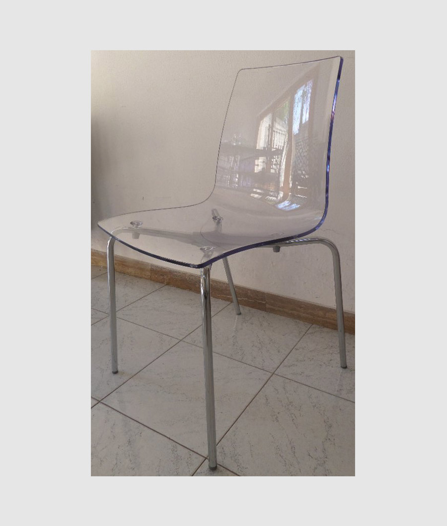 Lelli outlet chair outlet chrome finished metal mg sedie for Sedie outlet