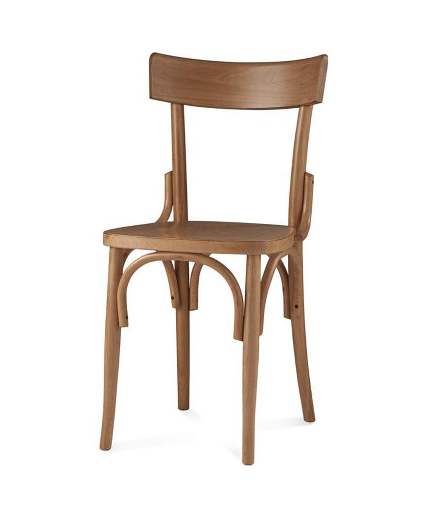 Sedia sedie curvato faggio mg sedie for Sedia milano