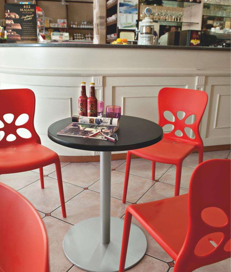 Art g 1313 sedia neon moderno sedie polipropilene mg sedie for Sedia g