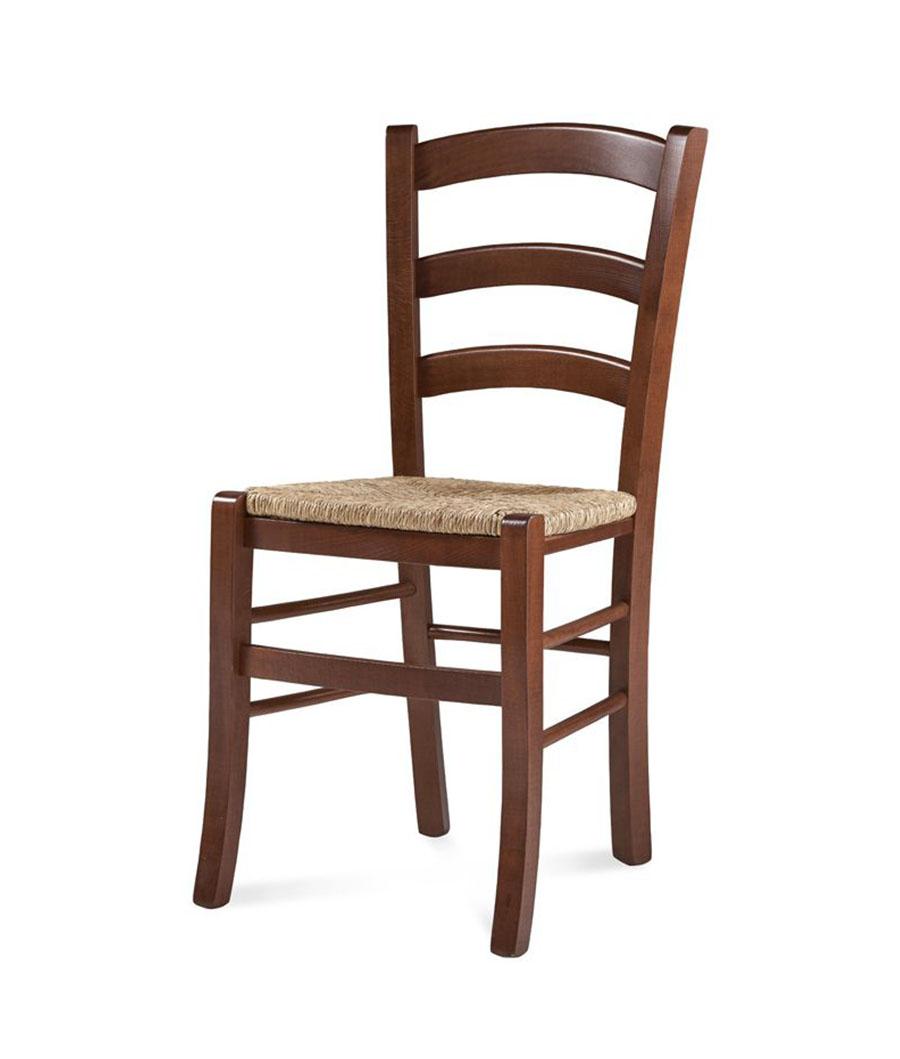 Sedia sedie classico e rustico faggio o frassino for Sedia impagliata