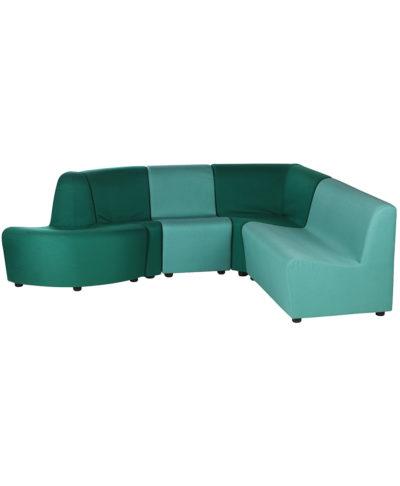 Set divano angolo 801 Outlet Faggio