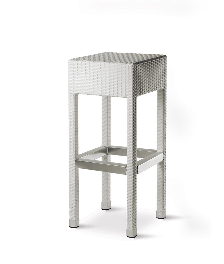 Art.ES 920 Sgabello Esterno  Alluminio Polietilene