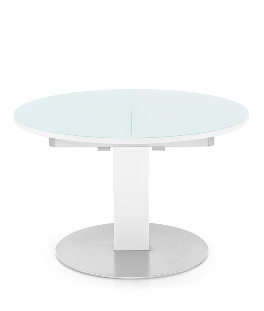 Art g 4756 rd thesis table tables home table mg sedie for Acheter table ronde avec rallonge